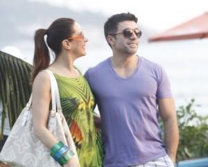 Momento relax: Claudia Raia aproveita a tarde livre no Rio com o namorado