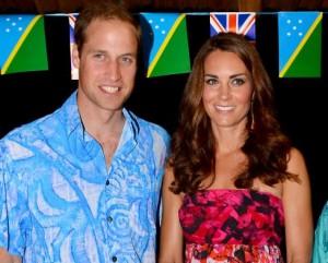 Gafe no figurino de Kate Middleton provoca confusão nas Ilhas Salomão