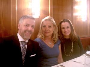Baronesa Sylvia de Waldner armou almoço em Nova York nesta semana