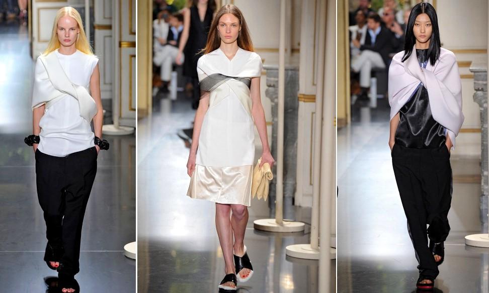 69d38672ed A festa do pijama chic da Céline na Semana de Moda de Paris – Moda ...