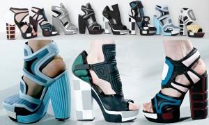 Sapatos incríveis da Rodarte ganharam os nossos corações