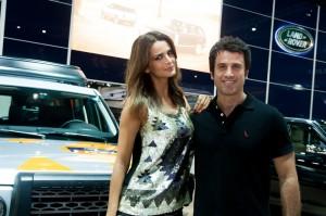 Jaguar Land Rover brinda com convidados no Salão do Automóvel