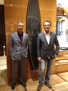 Irmãos Campana prestigiam abertura de loja da Louis Vuitton