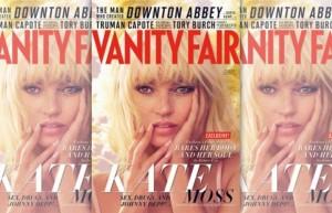 """Kate Moss revela seus segredos para a """"Vanity Fair"""" de dezembro"""