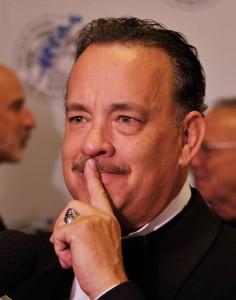 Tom Hanks passa vergonha na TV Americana. Assista!