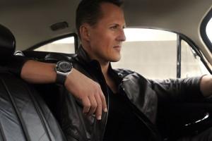 Que tal cronometrar o tempo com o piloto Michael Schumacher?