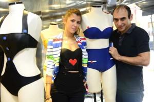 Mariasole Cecchi e Amir Slama formam a nova dupla da moda praia