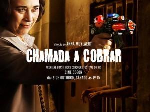 "Anna Muylaert: nervosa com estreia de ""Chamada a Cobrar"""
