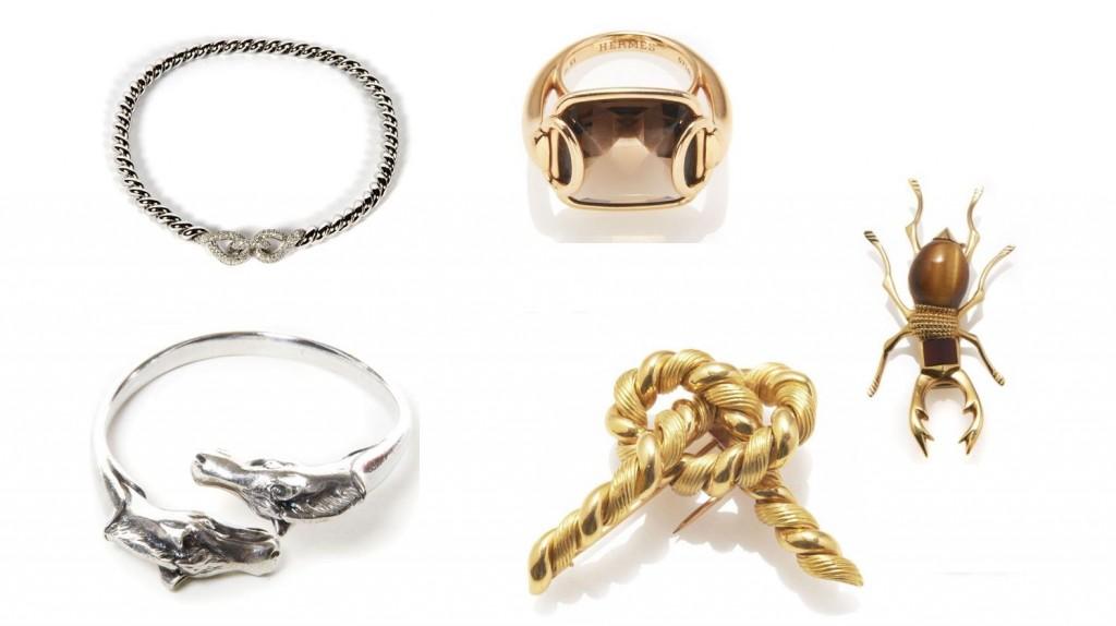 5013ac8fd25 Artcurial coloca joias e relógios vintage da Hermès a leilão. De ...