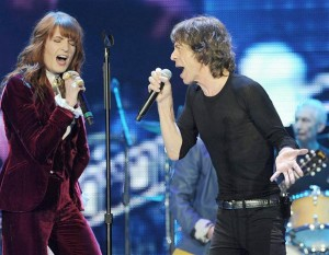 Rolling Stones e Florence Welch no mesmo palco? Play!