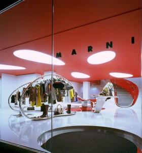 Conheça a flagship da marca italiana Marni, em Londres