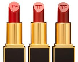Tom Ford lança edição limitada de batons vermelhos