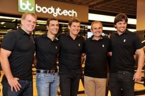 Quarteto fantástico da Bodytech ganha mais um integrante: Fábio Faria