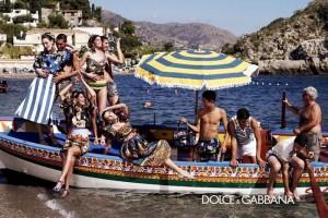 Bianca Brandolini e Monica Bellucci: as estrelas da Dolce & Gabbana