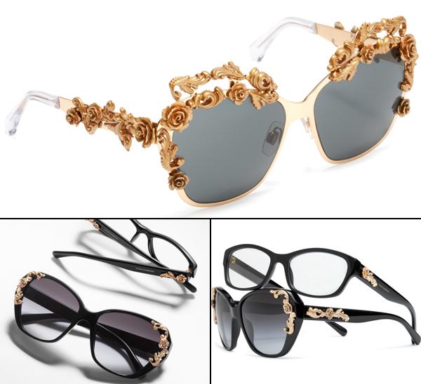 Com inspiração barroca, Dolce   Gabbana lança nova linha de óculos ... bcf89fc332