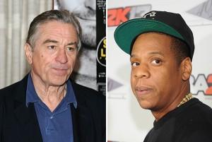 Robert De Niro briga com Jay-Z no aniversário de DiCaprio