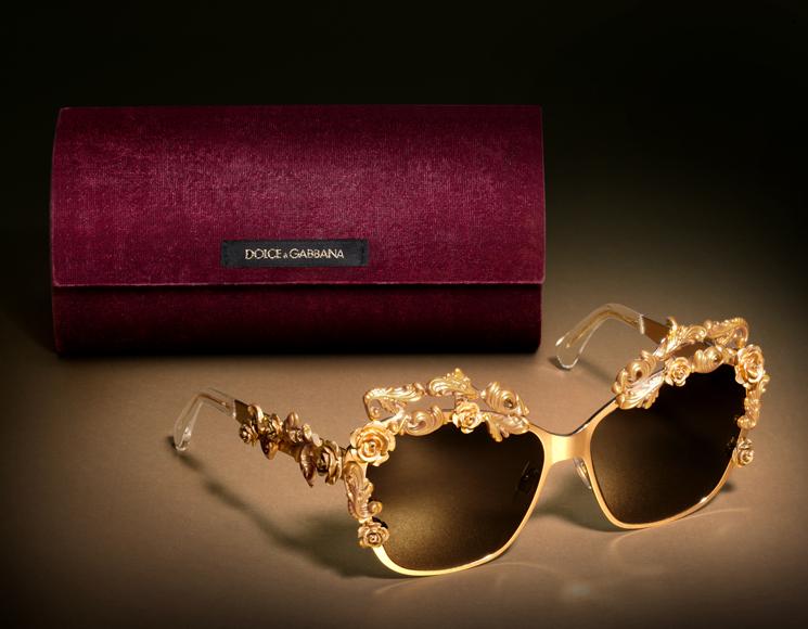 Com inspiração barroca, Dolce   Gabbana lança nova linha de óculos ... 813d9b8233