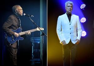 """David Byrne e Gilberto Gil cantam """"Asa Branca"""" juntos em NY"""