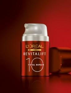 Revitalift Total Repair 10 promete combater 10 sinais da idade em apenas 1 gesto