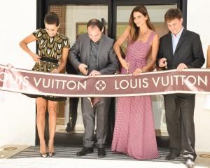 Vem ver os cliques da abertura da Louis Vuitton em Punta del Este