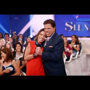 Patricia Abravanel faz homenagem a Silvio Santos, aniversariante do dia