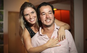 Aniversário duplo em São Paulo com Marina e Gabriel Nehemy