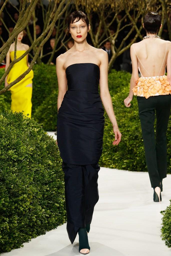 Vestido Dior da coleção couture primavera 2013