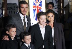 Victoria e David Beckham alugam casa de U$ 32 milhões em Londres