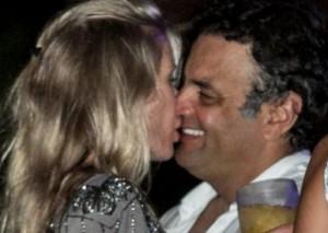 Aécio Neves e Leticia Weber estão juntos de novo. Glamurama viu…