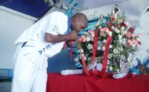 Portela homenageia São Sebastião, padroeiro do Rio e da bateria da escola