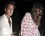Glamurama flagra o Réveillon de Tatiana Santo Domingo e Andrea Casiraghi