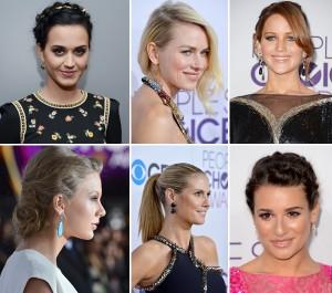 Os penteados que chamaram a atenção no People's Choice Awards