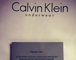 Felipe Solari, Raphael Falci e Leo Botto ganham kit Calvin Klein e contam tudo