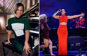 Dobradinha: Alicia Keys veste looks de marca brasileira em dois eventos