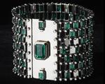 Desejo do dia: pulseira de esmeraldas de Wilfredo Rosado