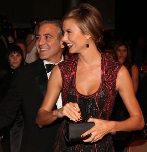 George Clooney vai estrelar filme publicitário com a namorada