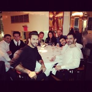 Marc Jacobs comandou mesa no Mr.Chow em torno de Harry Louis