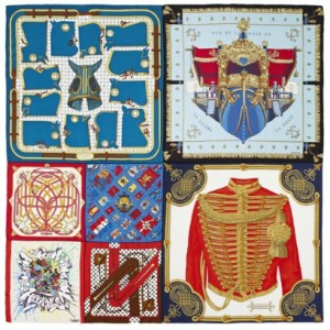 Nosso desejo do dia: lenço da Hermès criado por Rei Kawakubo