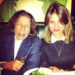Luisa Moraes teve um jantar mais do que especial em Nova York