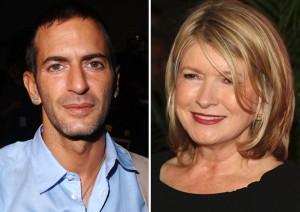Martha Stewart arranca confissões de Marc Jacobs em Nova York