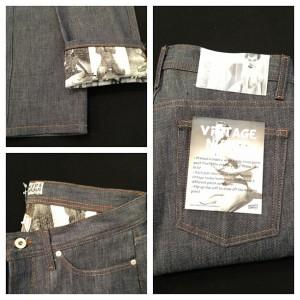 Naked & Famous lança linha de calças com pin-ups por dentro. Oi?