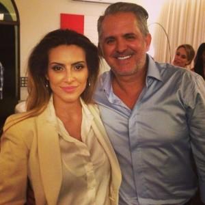Cleo e Gloria Pires armaram festa boa para Orlando Morais