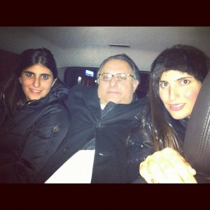 Tania e Marcos Derani vem curtindo Nova York com as filhas. Vem ver!