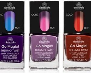Tipo mágica: esmalte que muda de cor de acordo com a temperatura