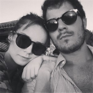Destino romântico para Victor Collor e a namorada Maria Eugênia Suconic
