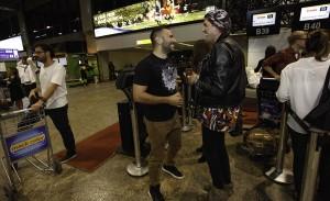 Glamurama Jet: confira o Red Carpet do canal E! no embarque para Salvador