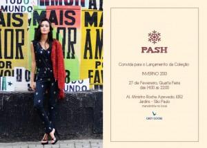Pash vai lançar a sua nova coleção com drinks e massagens