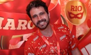 Caco Ciocler: quase um gringo no samba