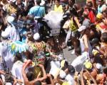 Carlinhos Brown agita Salvador com o bloco Afródromo