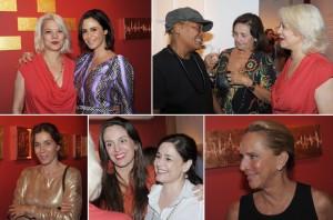 Francisca Botelho expõe no Rio e atrai mulheres que fazem a diferença